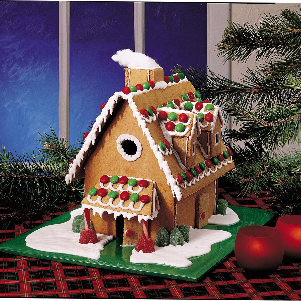 Christmas Gingerbread House Recipe Taste Of Home