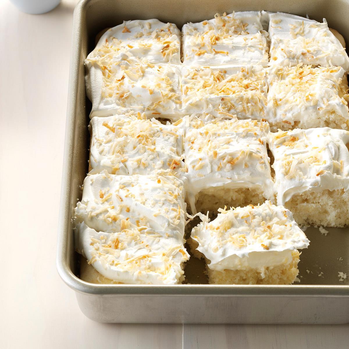 Coconut Cream Pound Cake Recipes