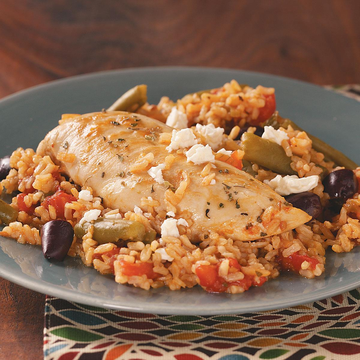 Easy mediterranean chicken recipe taste of home forumfinder Images