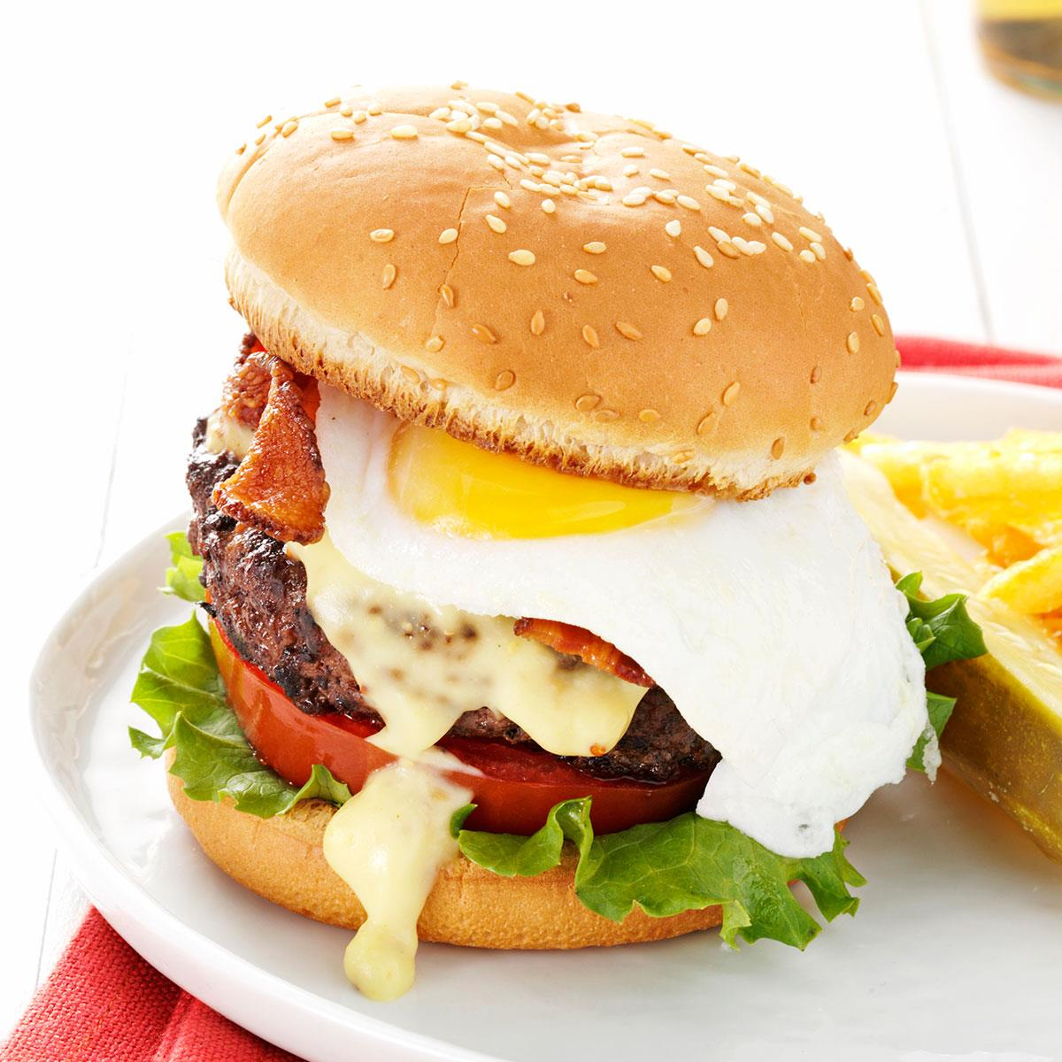Eggs Benedict Burgers Recipe Taste Of Home