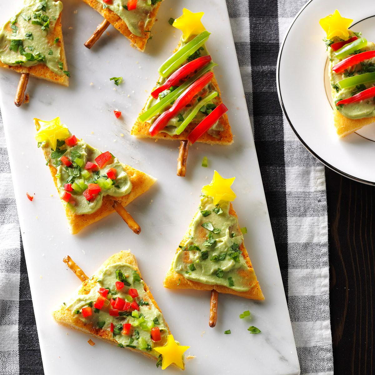 Festive guacamole appetizers recipe taste of home forumfinder Images