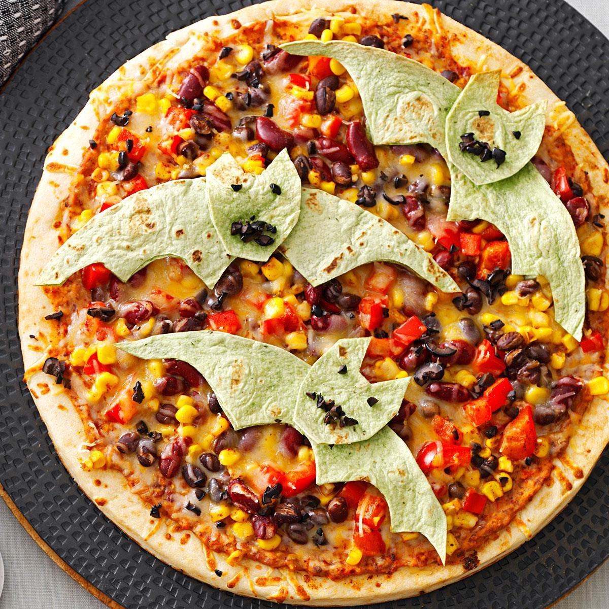 Flying Bat Pizzas Recipe