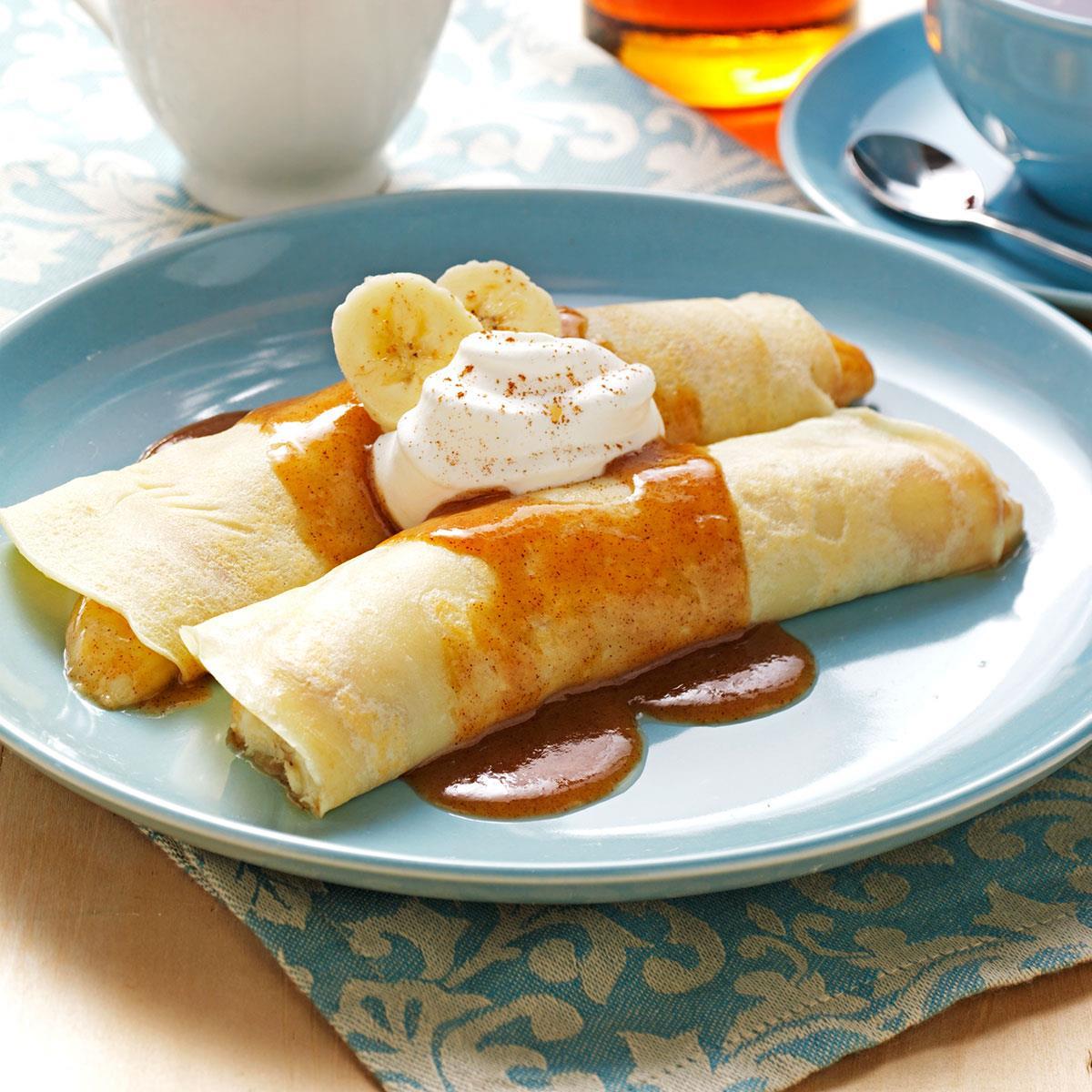 French Banana Pancakes Recipe Taste of Home