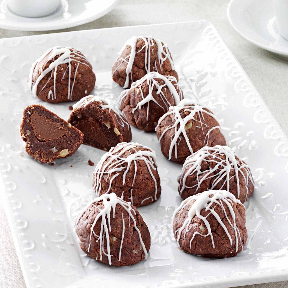 Fudge Bonbon Cookies Recipe Taste Of Home