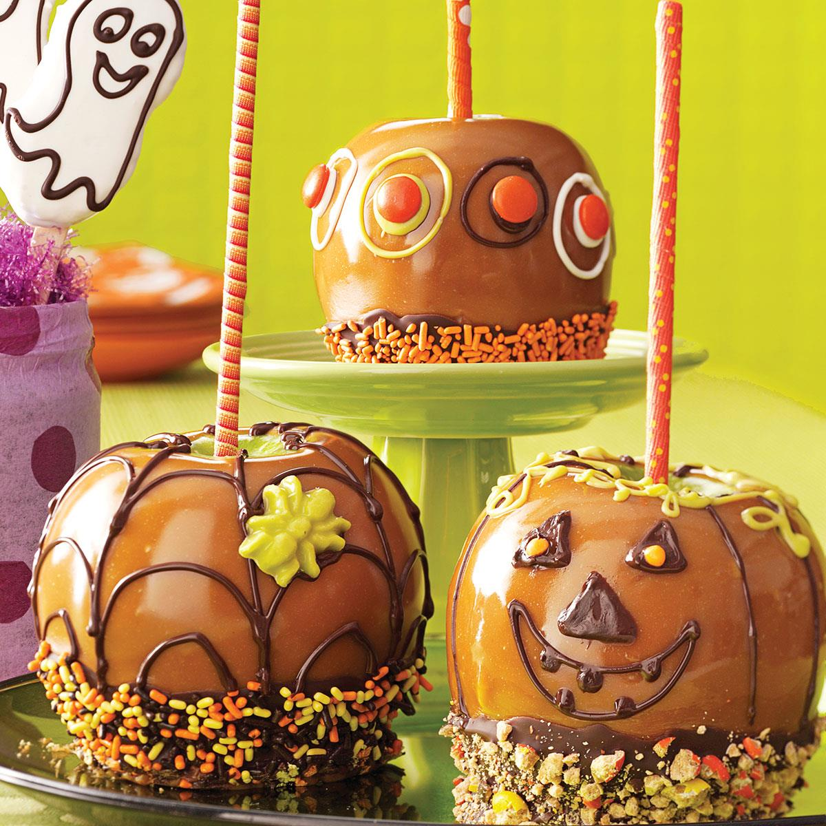 Fun Caramel Apples Recipe