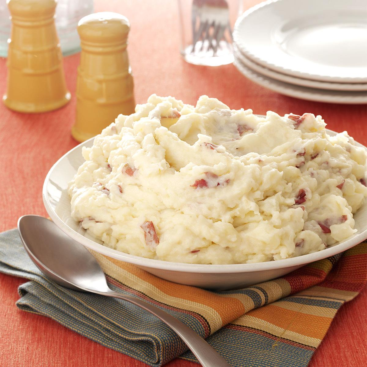 Garlic Mashed Red Potatoes Recipe