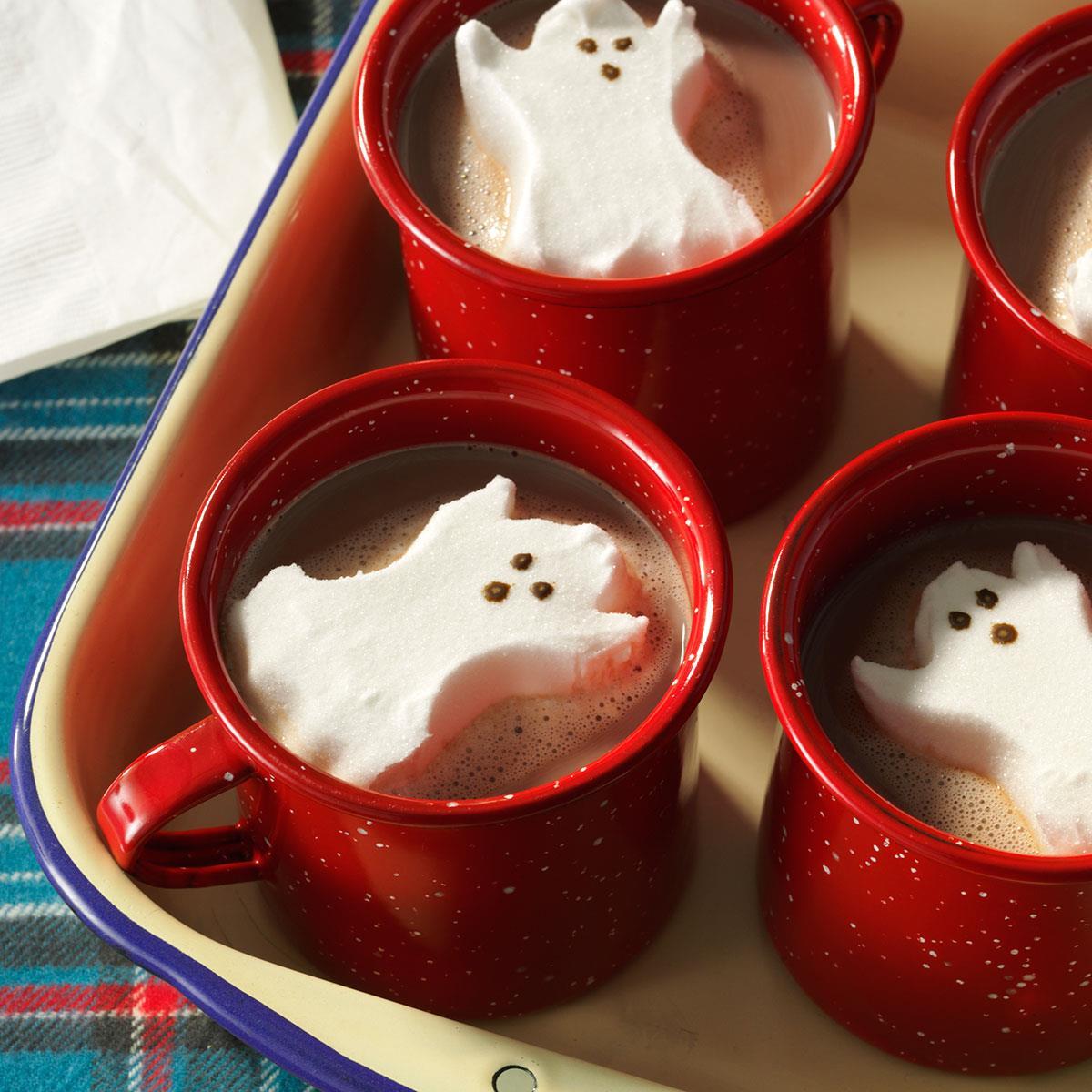 Jiffy Ground Pork Skillet Recipe: Ghostly Hot Cocoa Recipe
