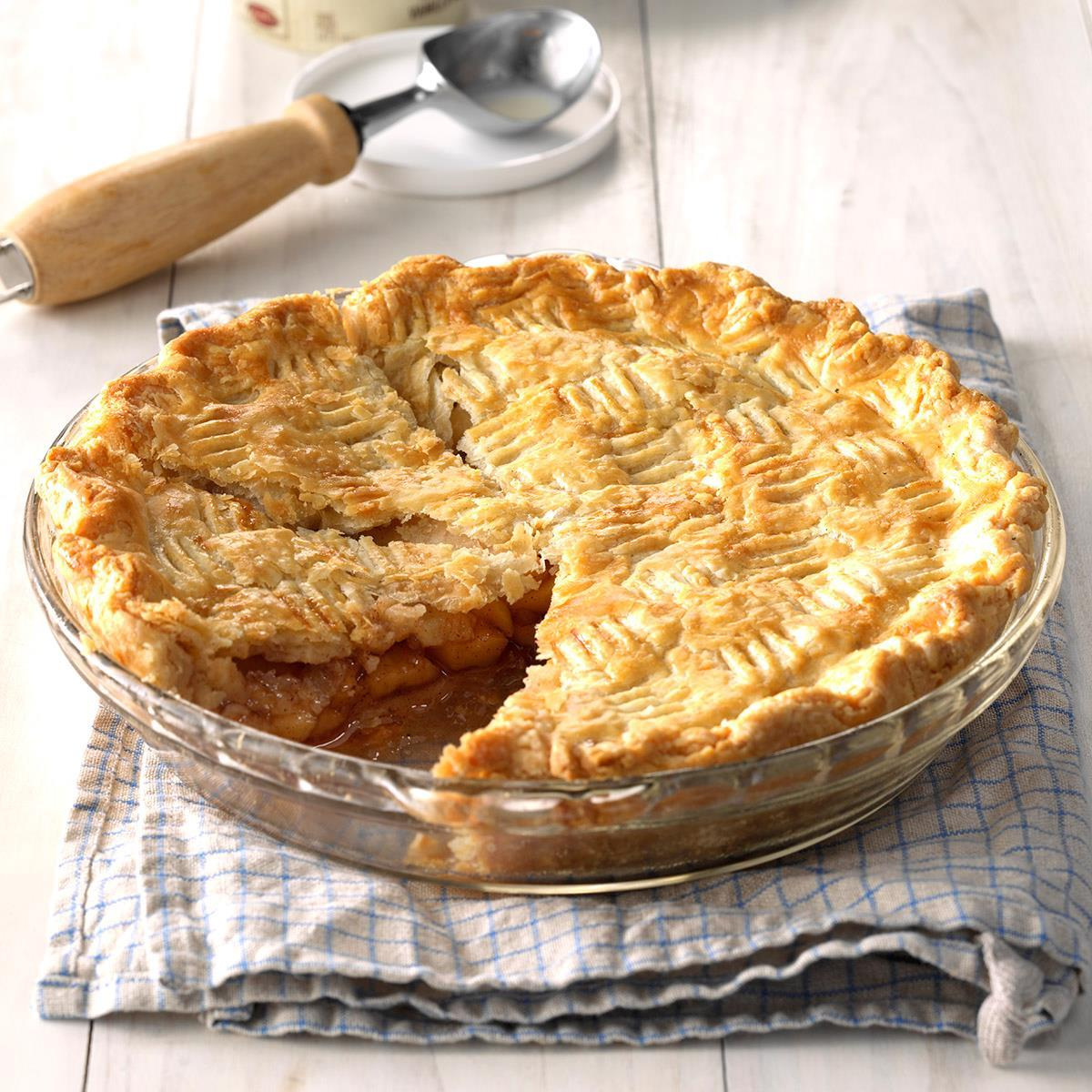 Golden Apple Pie Recipe