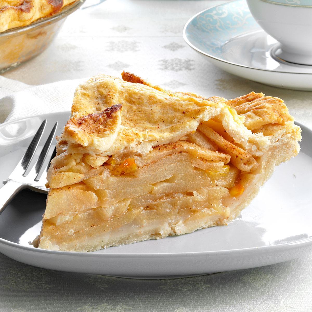 Golden Harvest Apple Pie Recipe