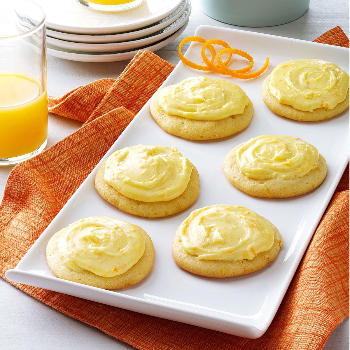 Grandma Brubaker 39 S Orange Cookies Recipe Taste Of Home