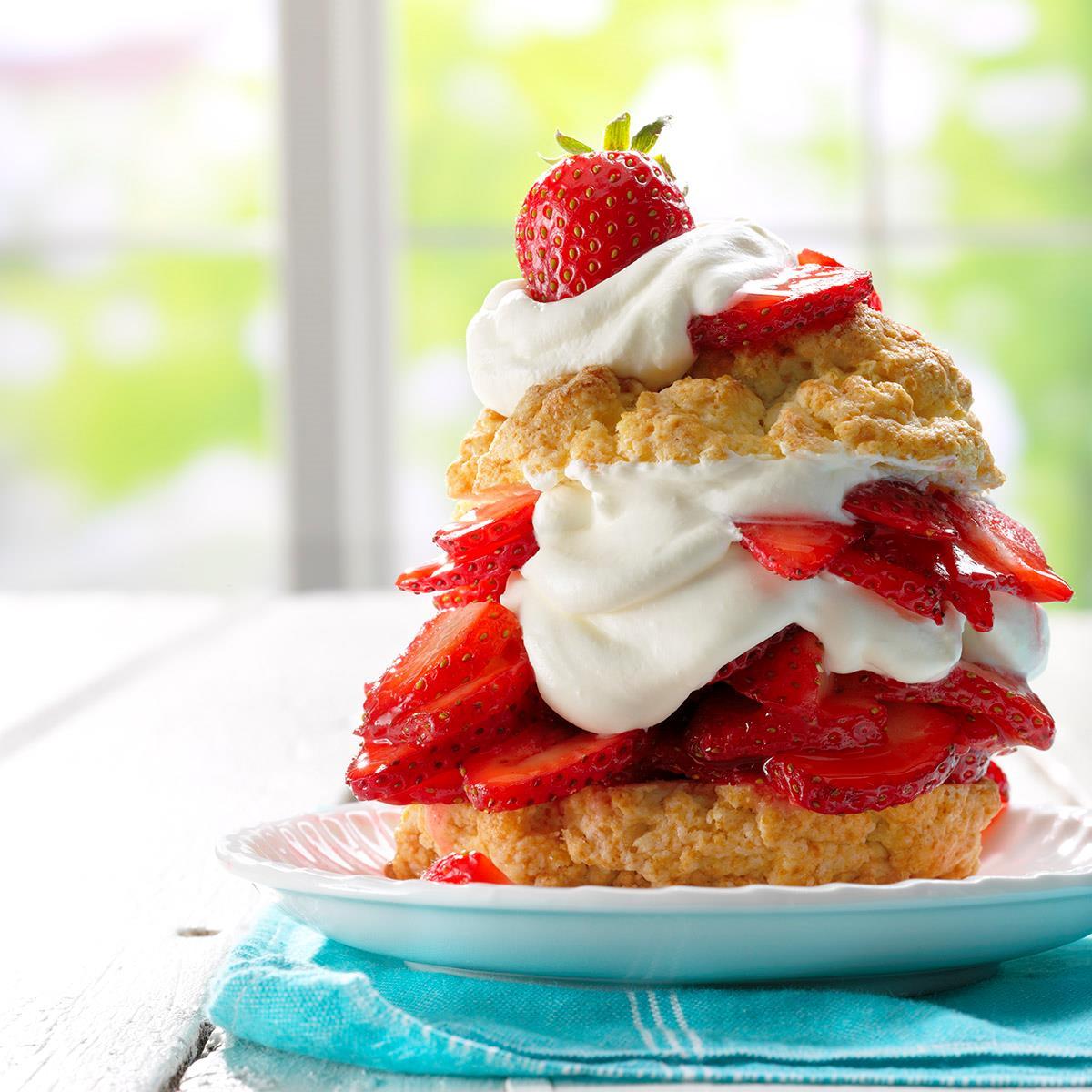 Grandma's Old-Fashioned Strawberry Shortcake Recipe