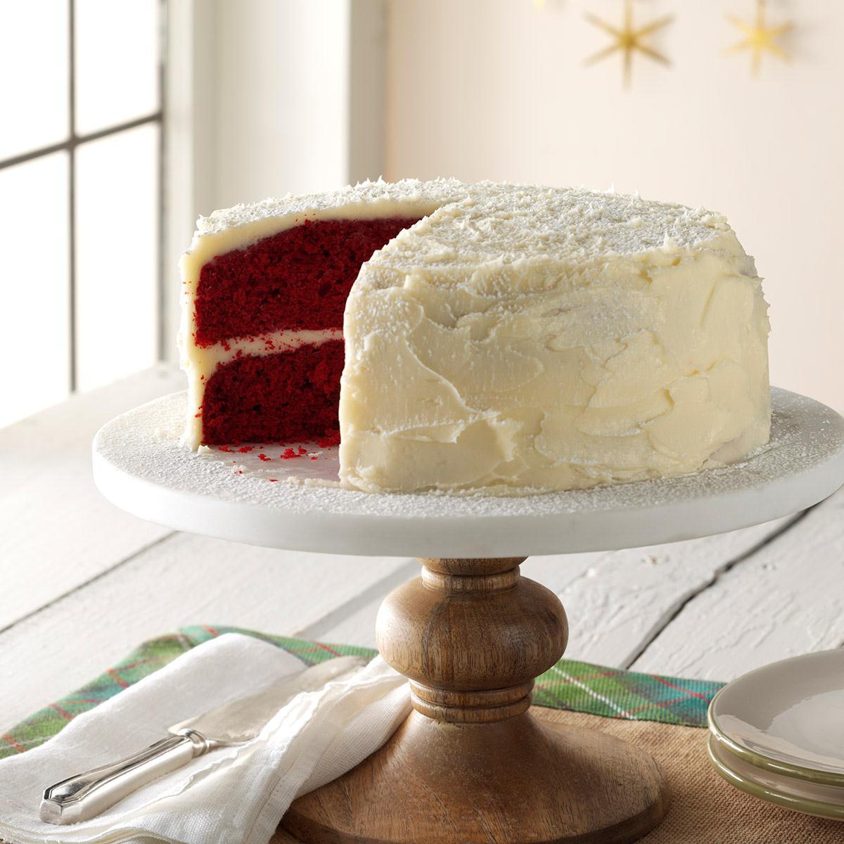 Taste Of Home Grandma Red Velvet Cake
