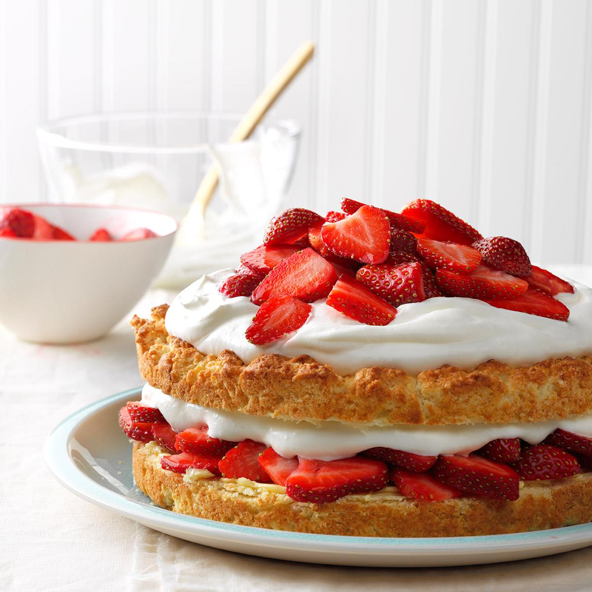 Grandma's Strawberry Shortcake Recipe | Taste of Home