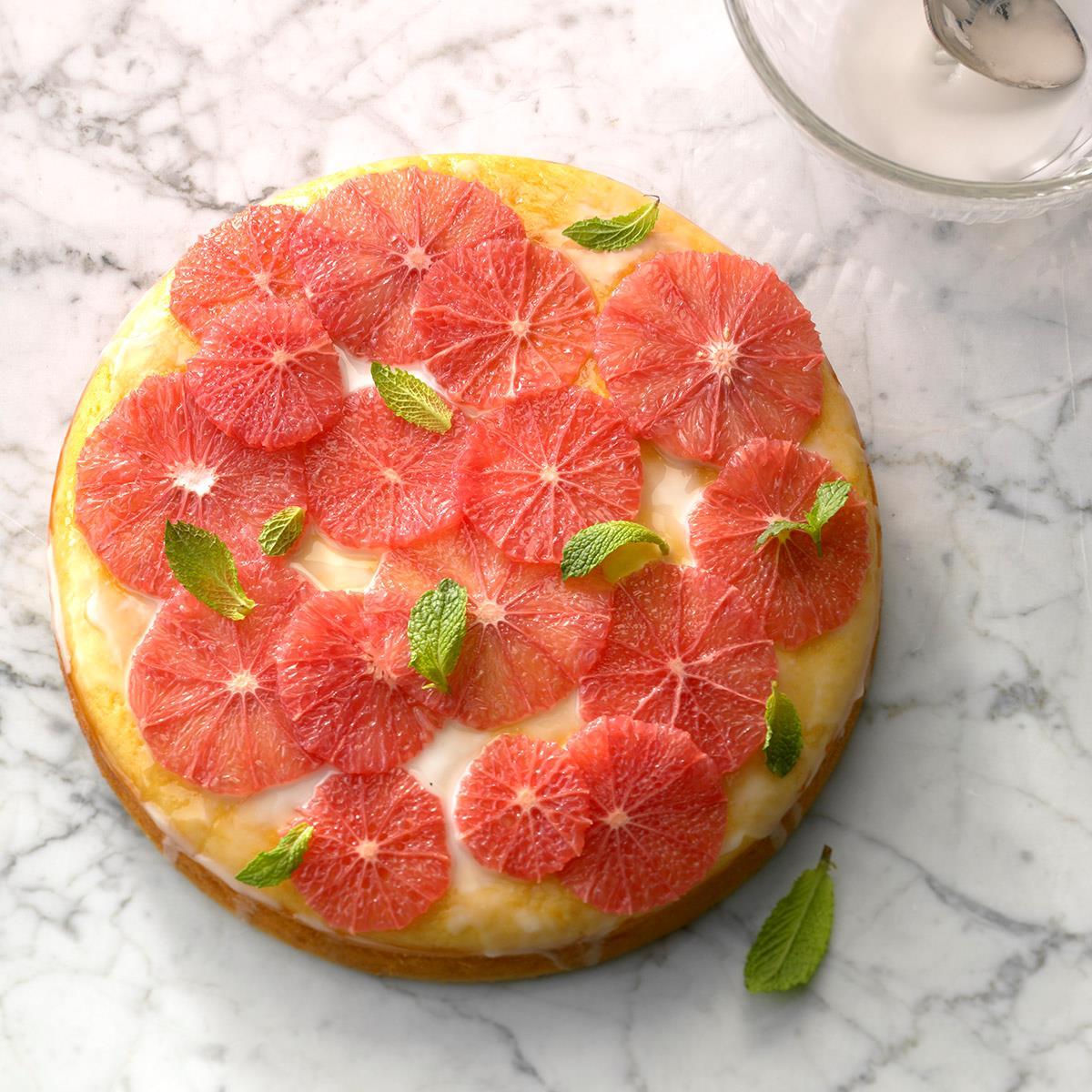 Grapefruit Yogurt Cake Recipe