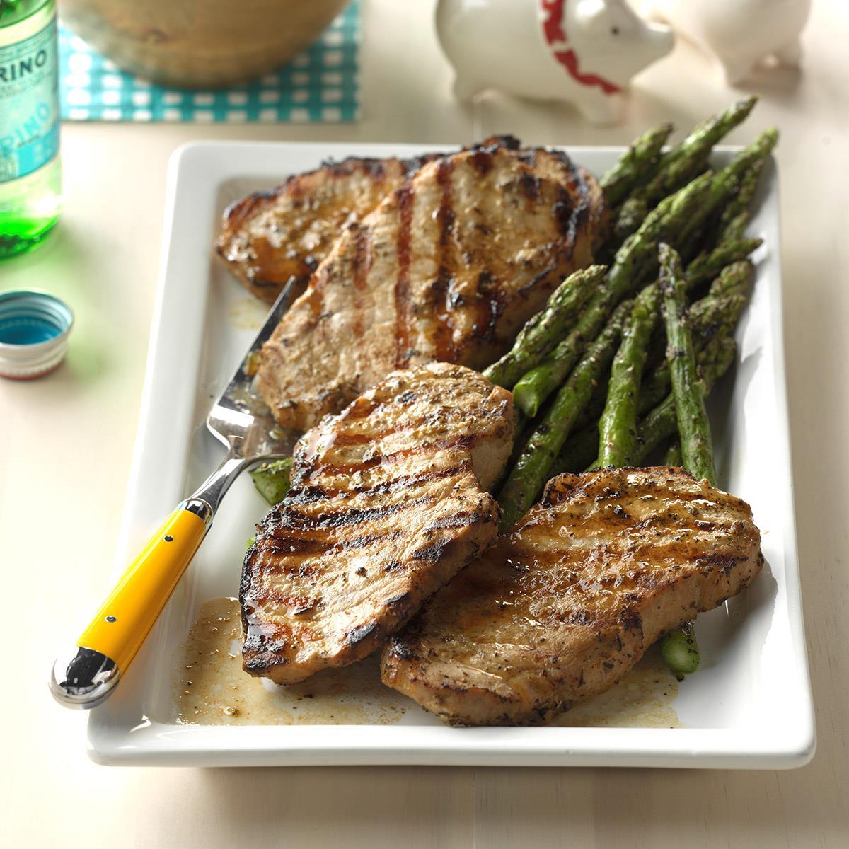Greek Pork Chops Recipe
