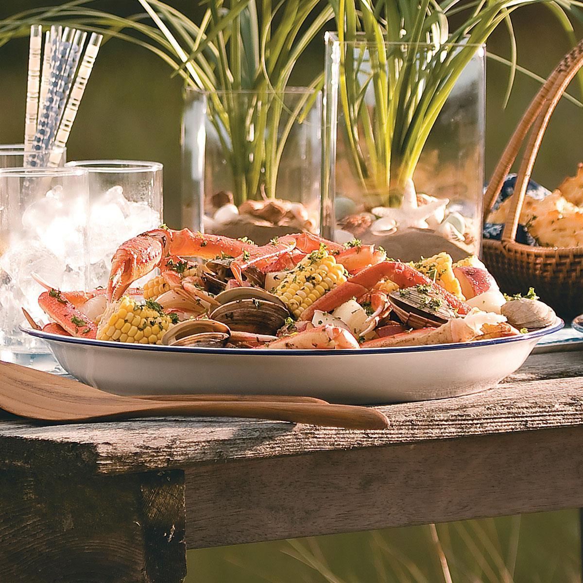 Grilled Clam Bake Recipe | Taste of Home
