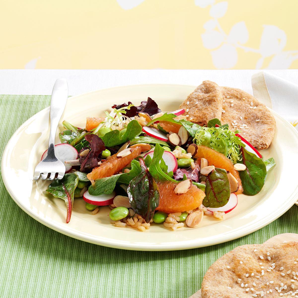 Hearty Asian Lettuce Salad Recipe | Taste of Home