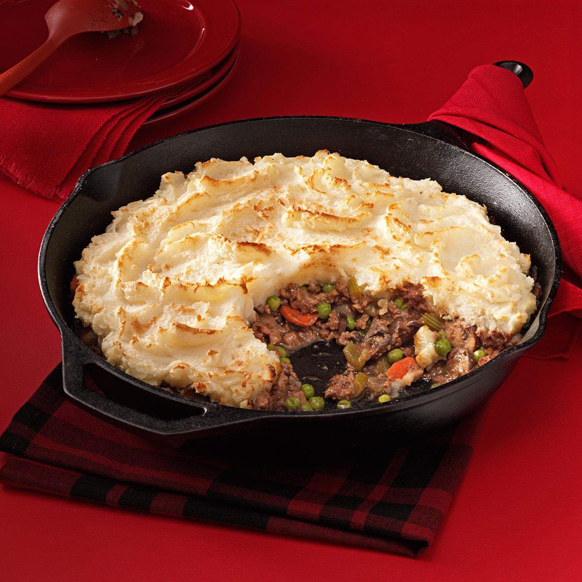 Hearty Meatless Shepherd's Pie Recipe