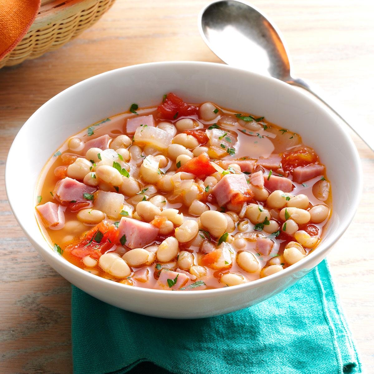 Hearty navy bean soup recipe taste of home forumfinder Choice Image