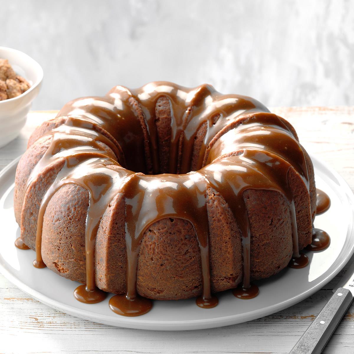 Heavenly Praline Cake Recipe Taste Of Home