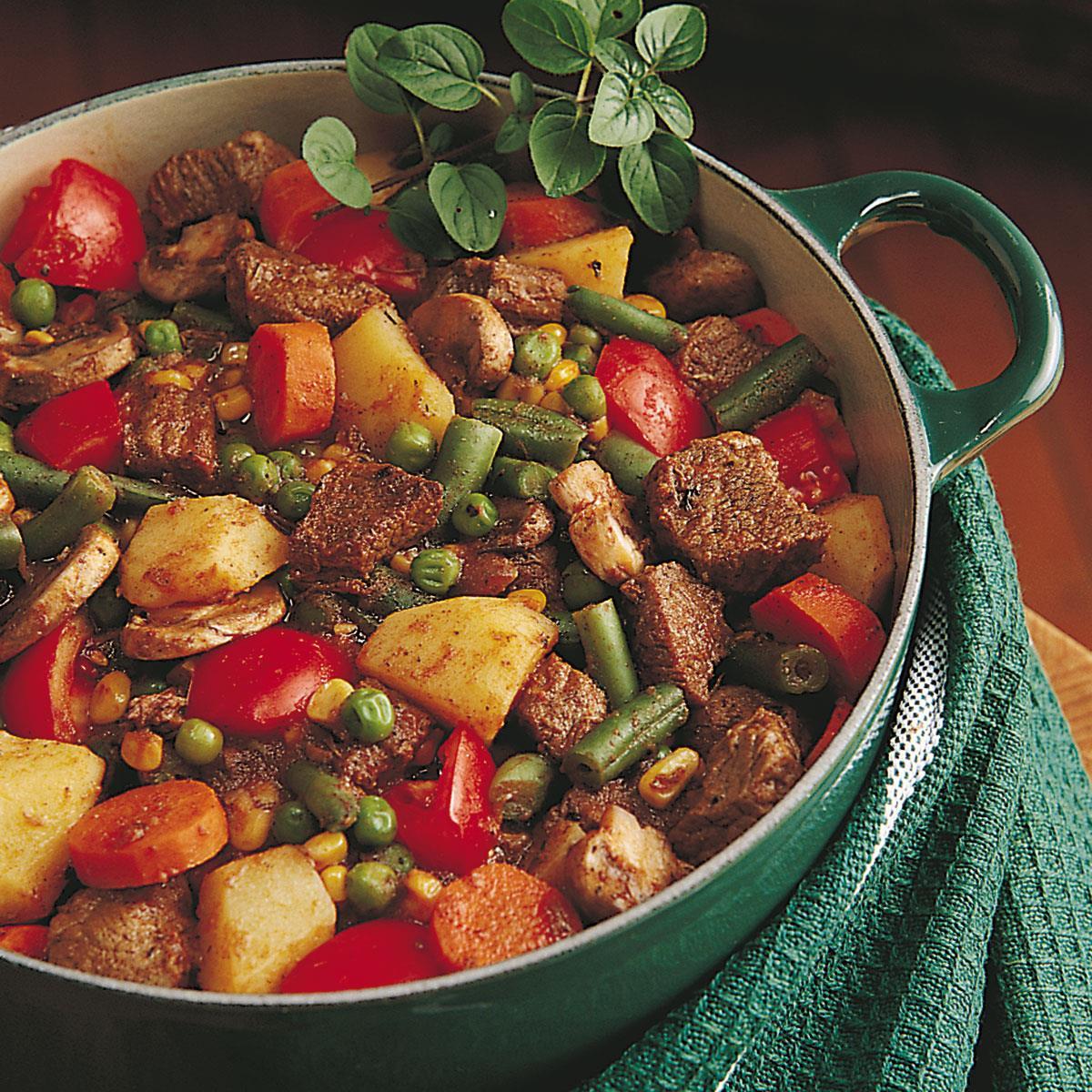 Herbed Beef Stew Recipe
