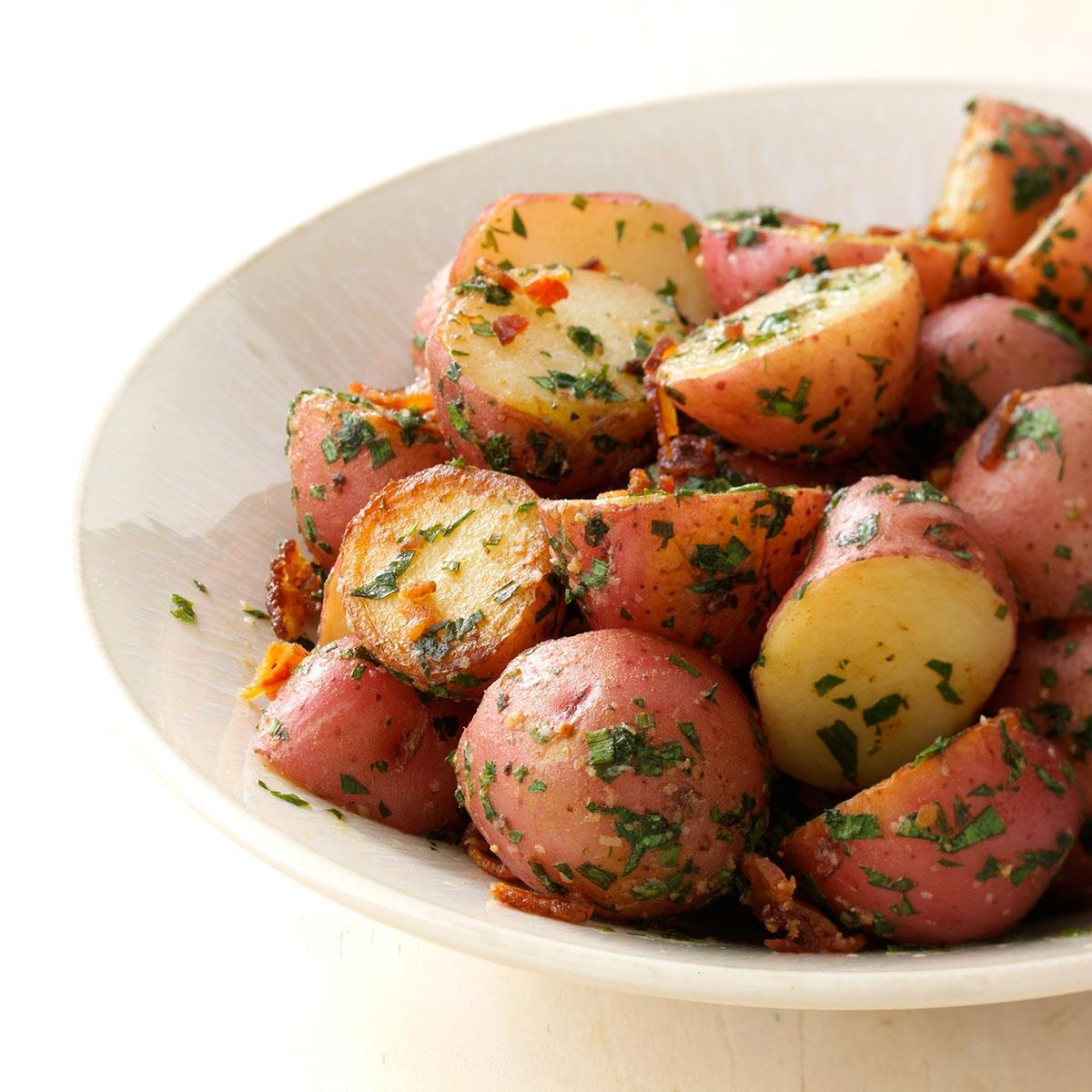 Potato Meal: Herbed Garlic Potatoes Recipe