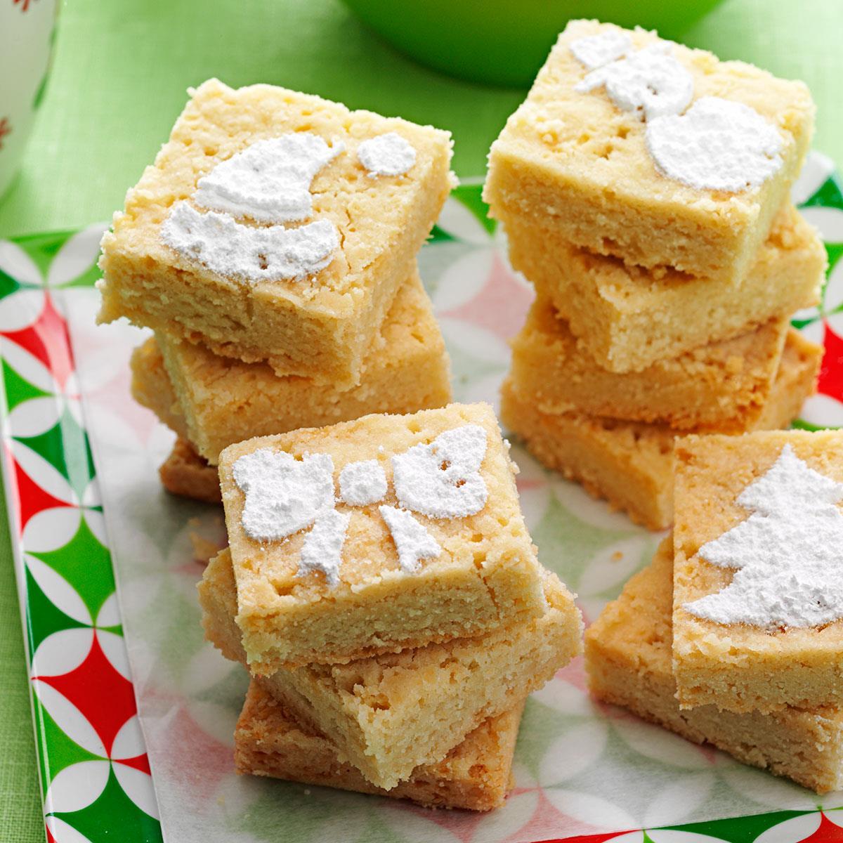 Holiday Shortbread Cookies Recipe