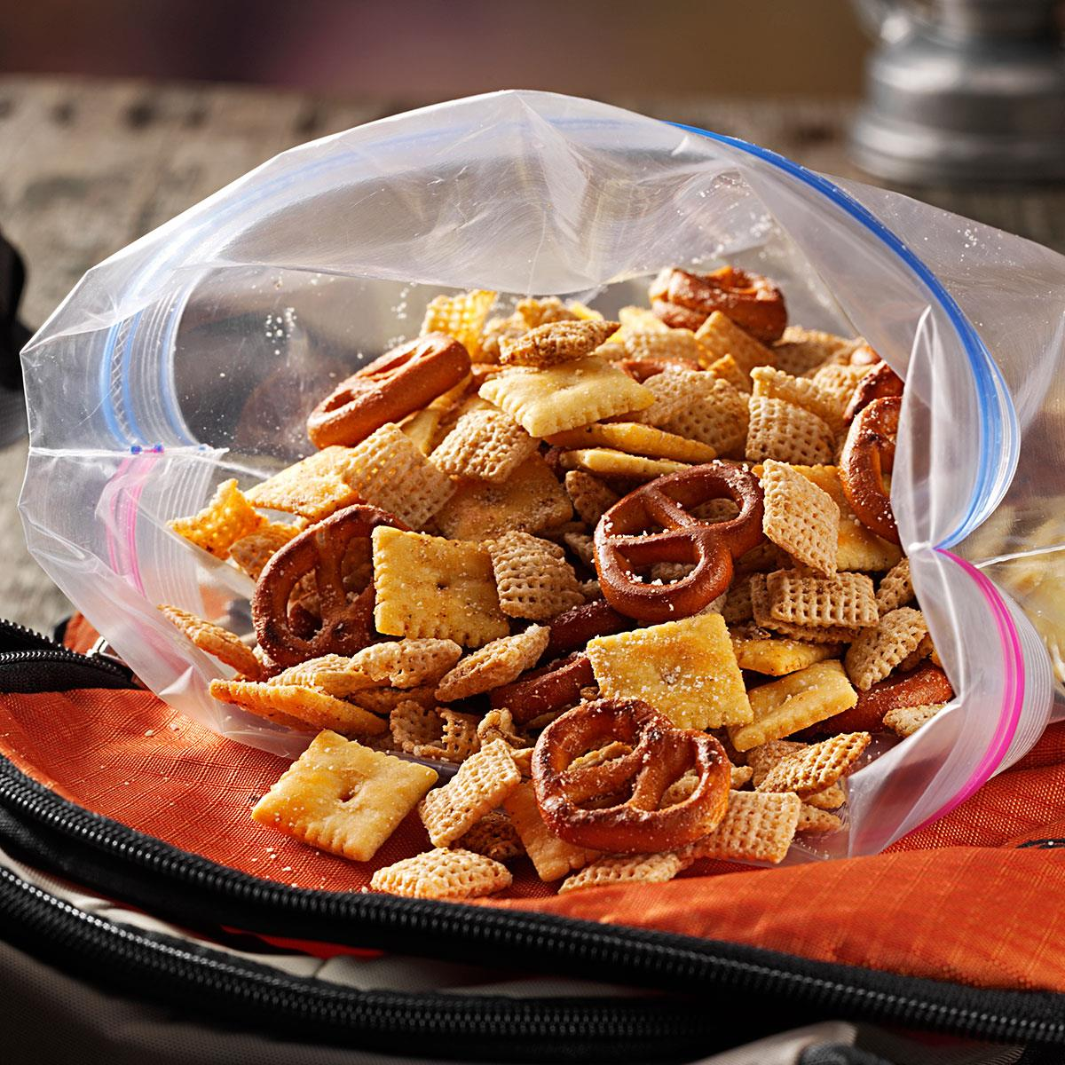 Italian Parmesan Snack Mix Recipe Taste Of Home