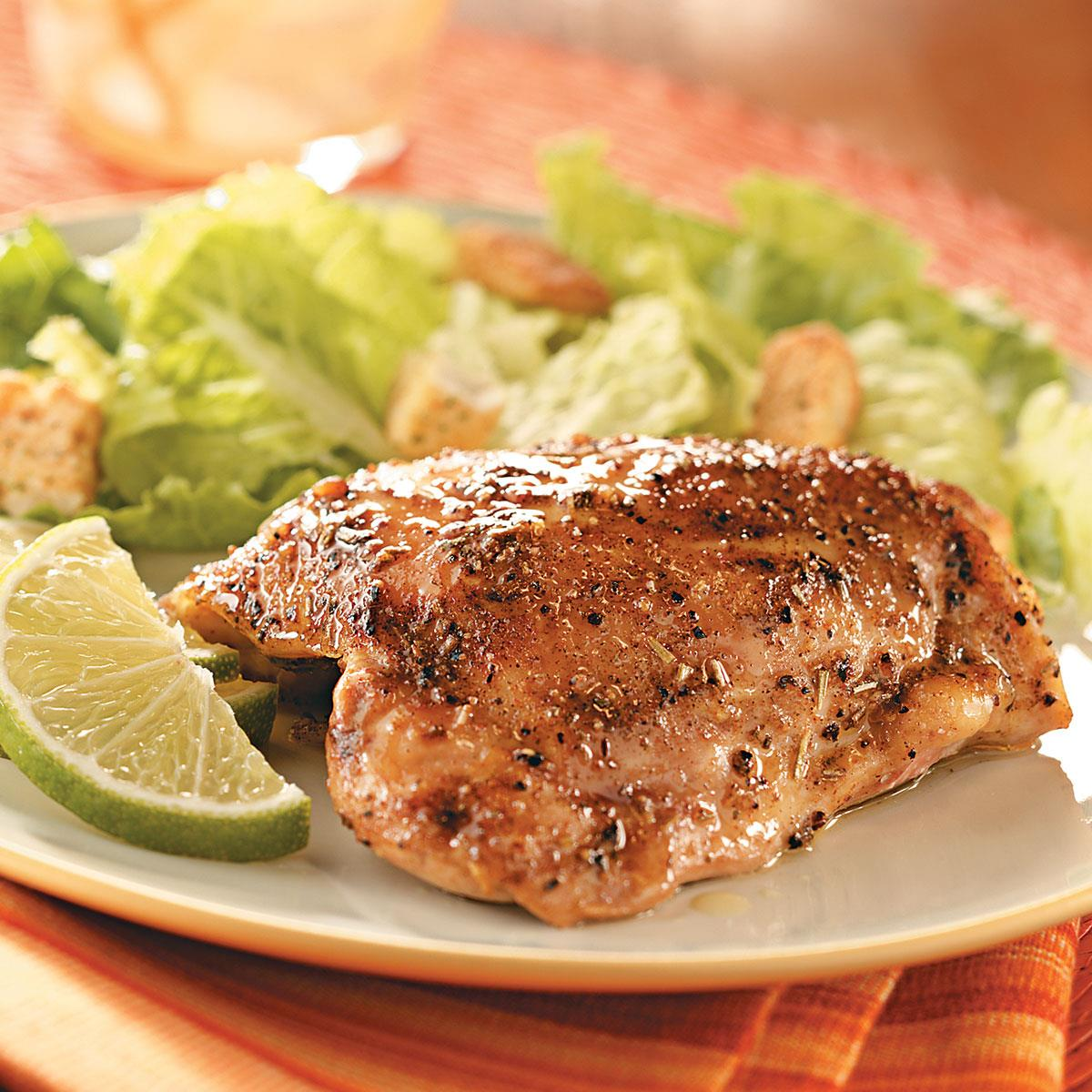 Key Lime Chicken Thighs Recipe