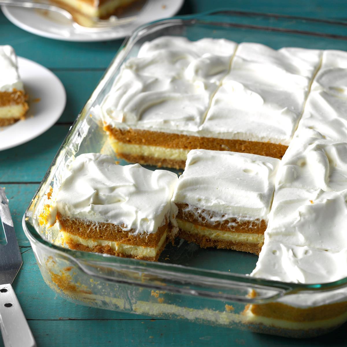 Great Pumpkin Dessert Recipe: Layered Pumpkin Dessert Recipe