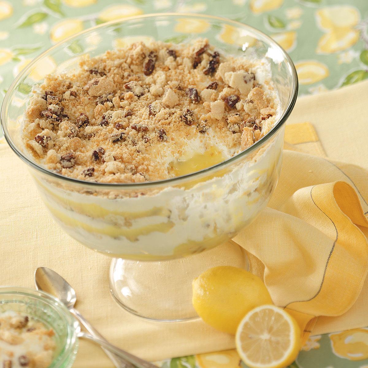 Brownie Mocha Trifle Recipe: Lemon Bar Trifle Recipe