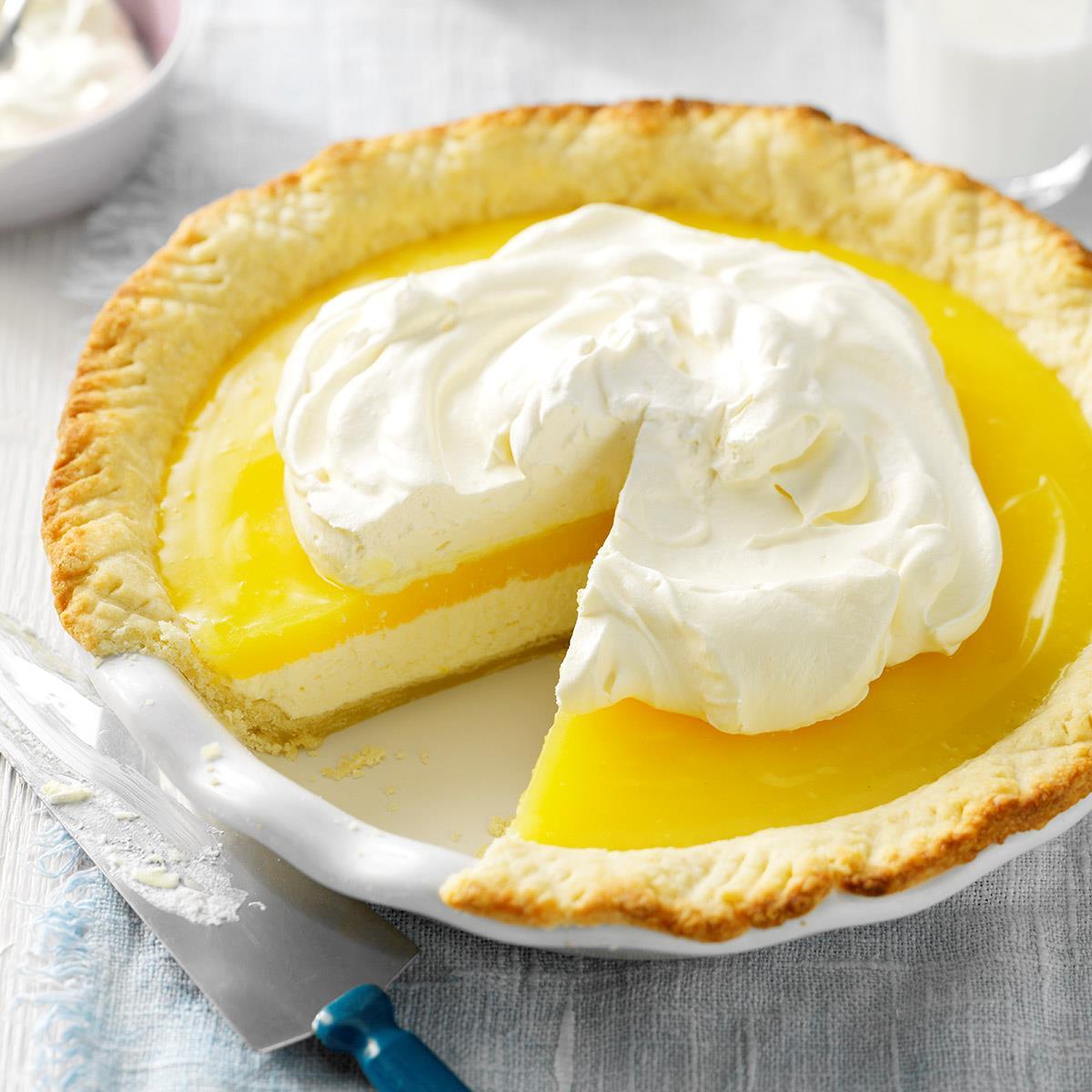 Lemon Blueberry Cake Recipe