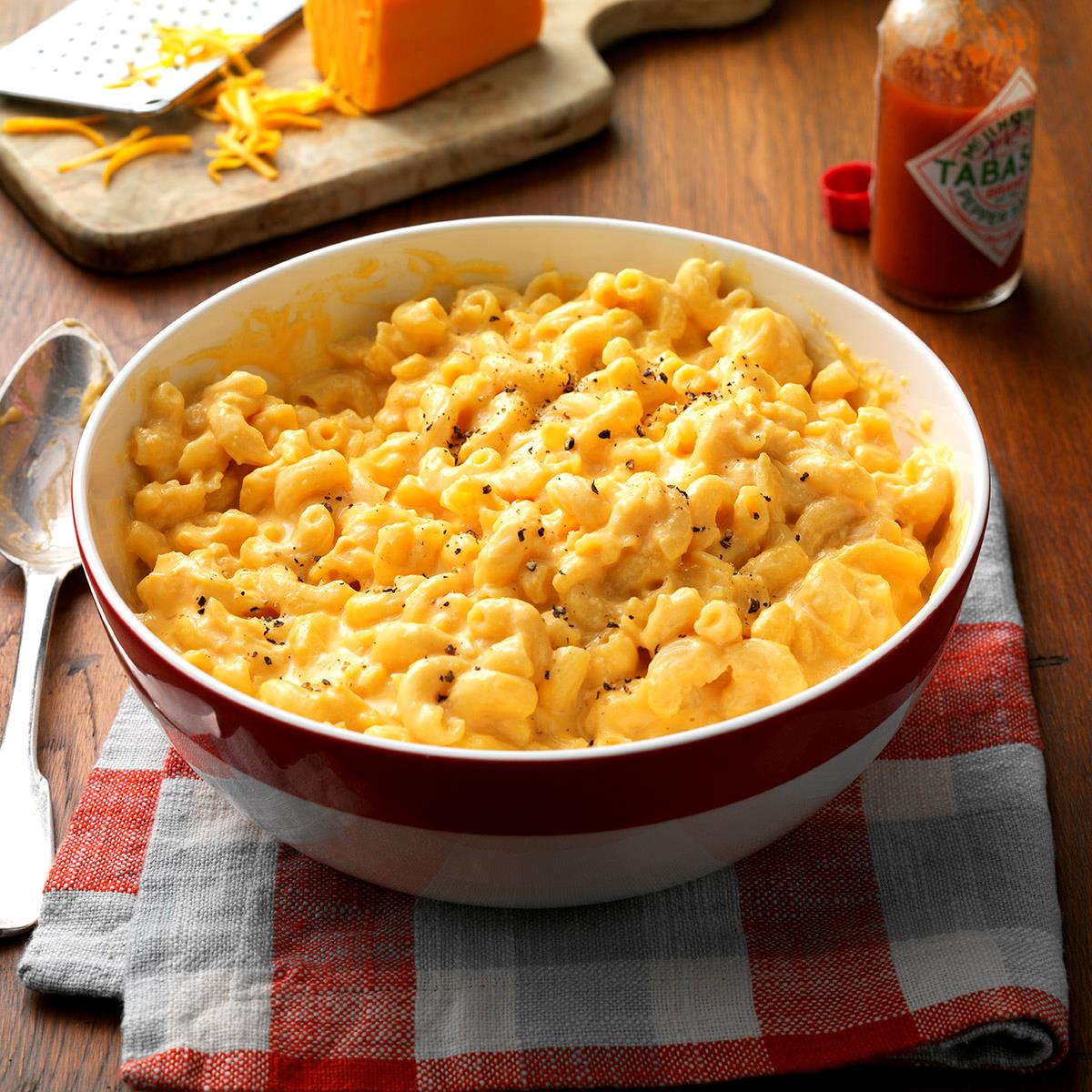 Makeover slow cooked mac n cheese recipe taste of home forumfinder Image collections