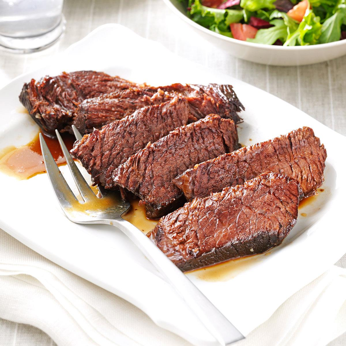 Marinated Chuck Roast Recipe Taste Of Home