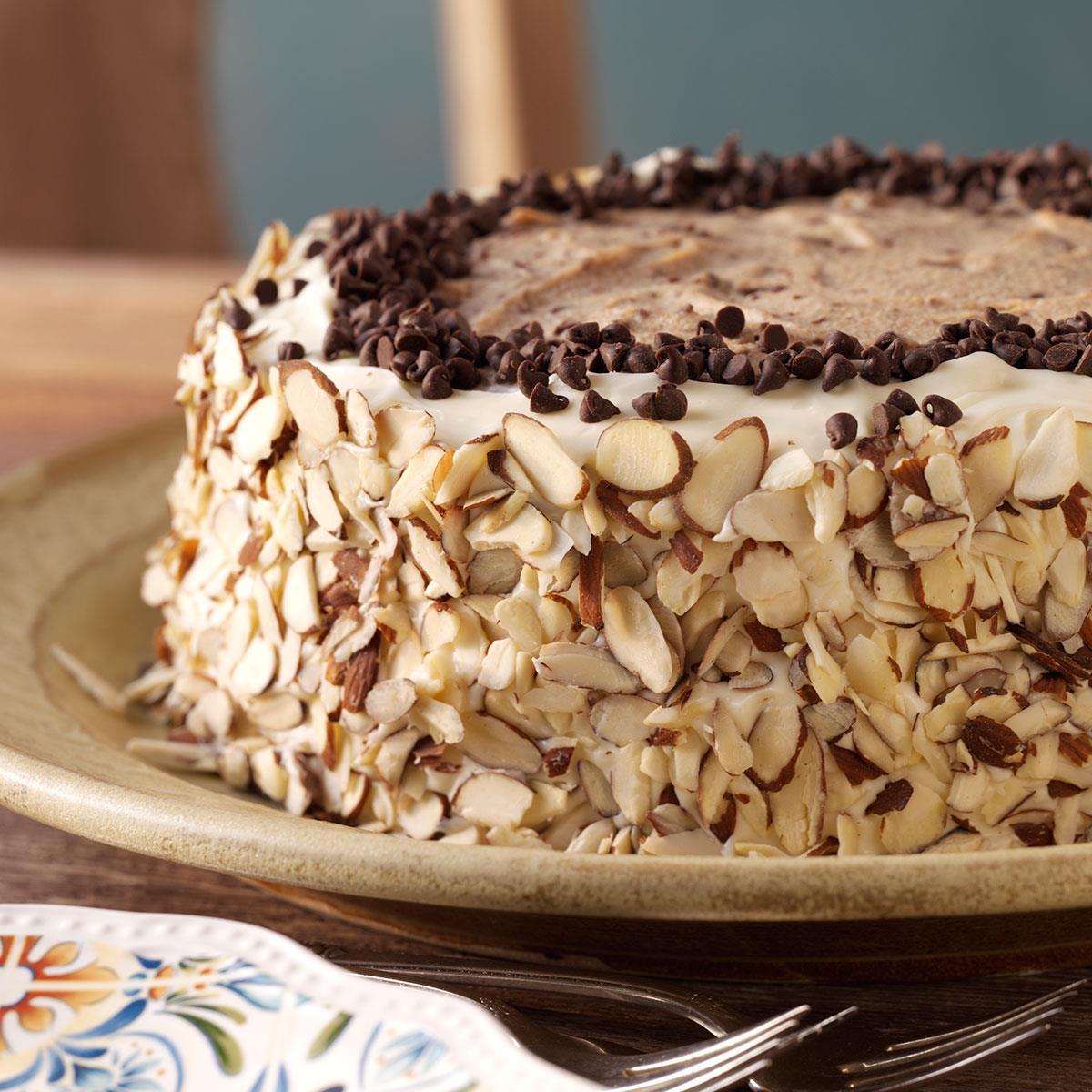 Marvelous Cannoli Cake Recipe Taste Of Home