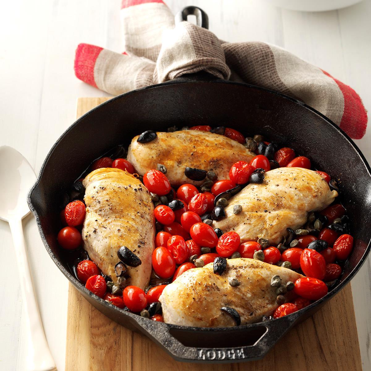 Mediterranean Style Recipes: Mediterranean Chicken Recipe