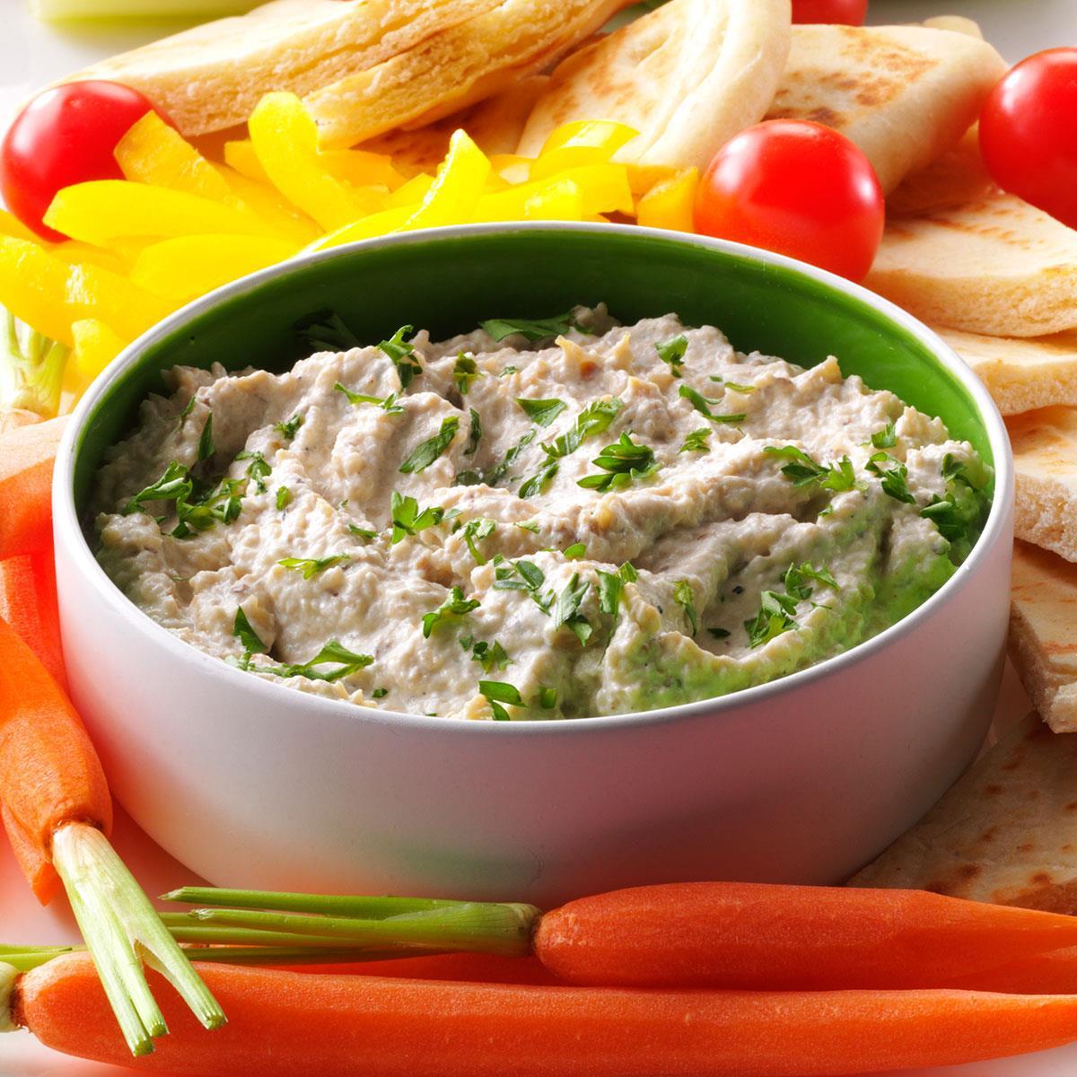 Mediterranean Style Recipes: Mediterranean Eggplant Dip Recipe