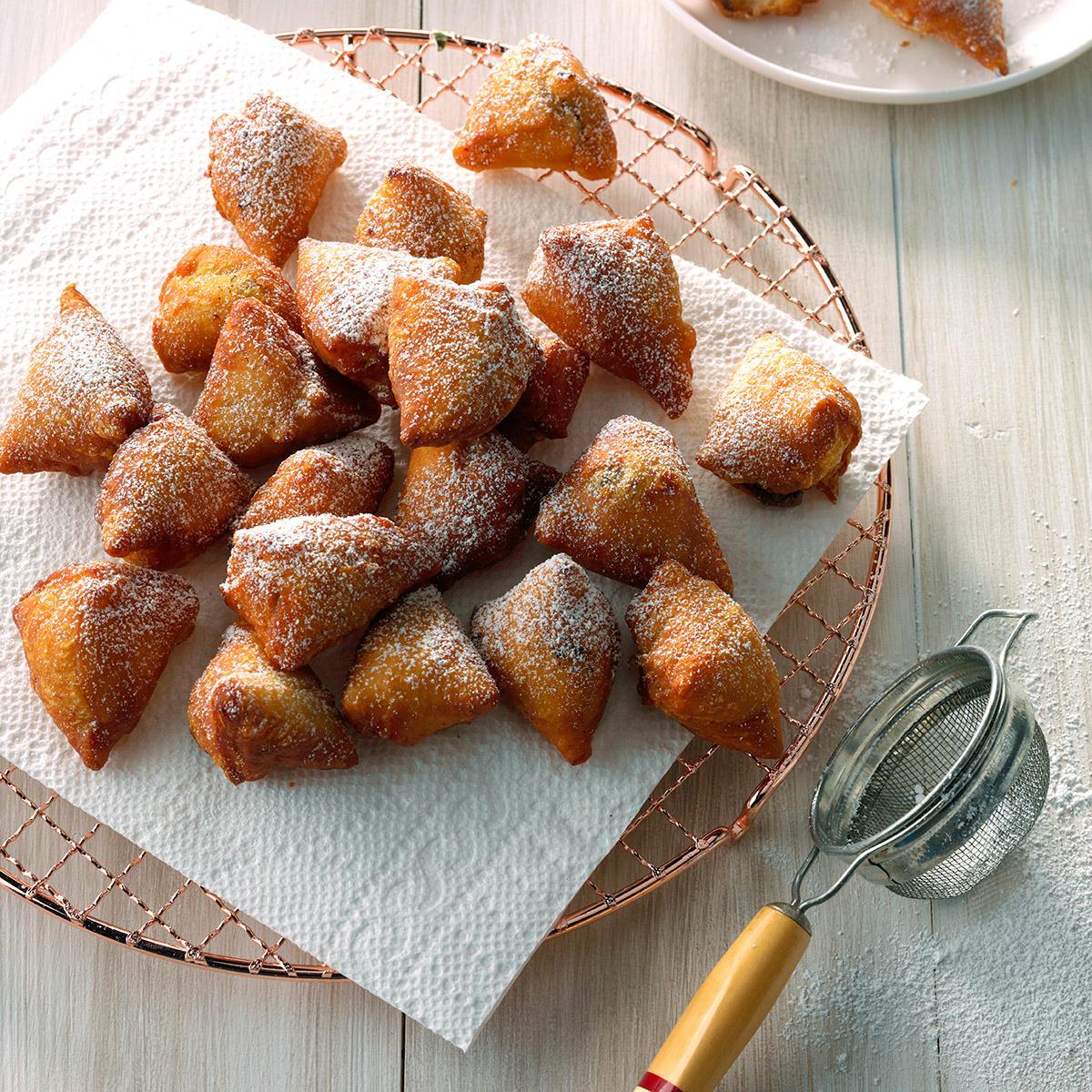 Mini Nutella Doughnuts Recipe
