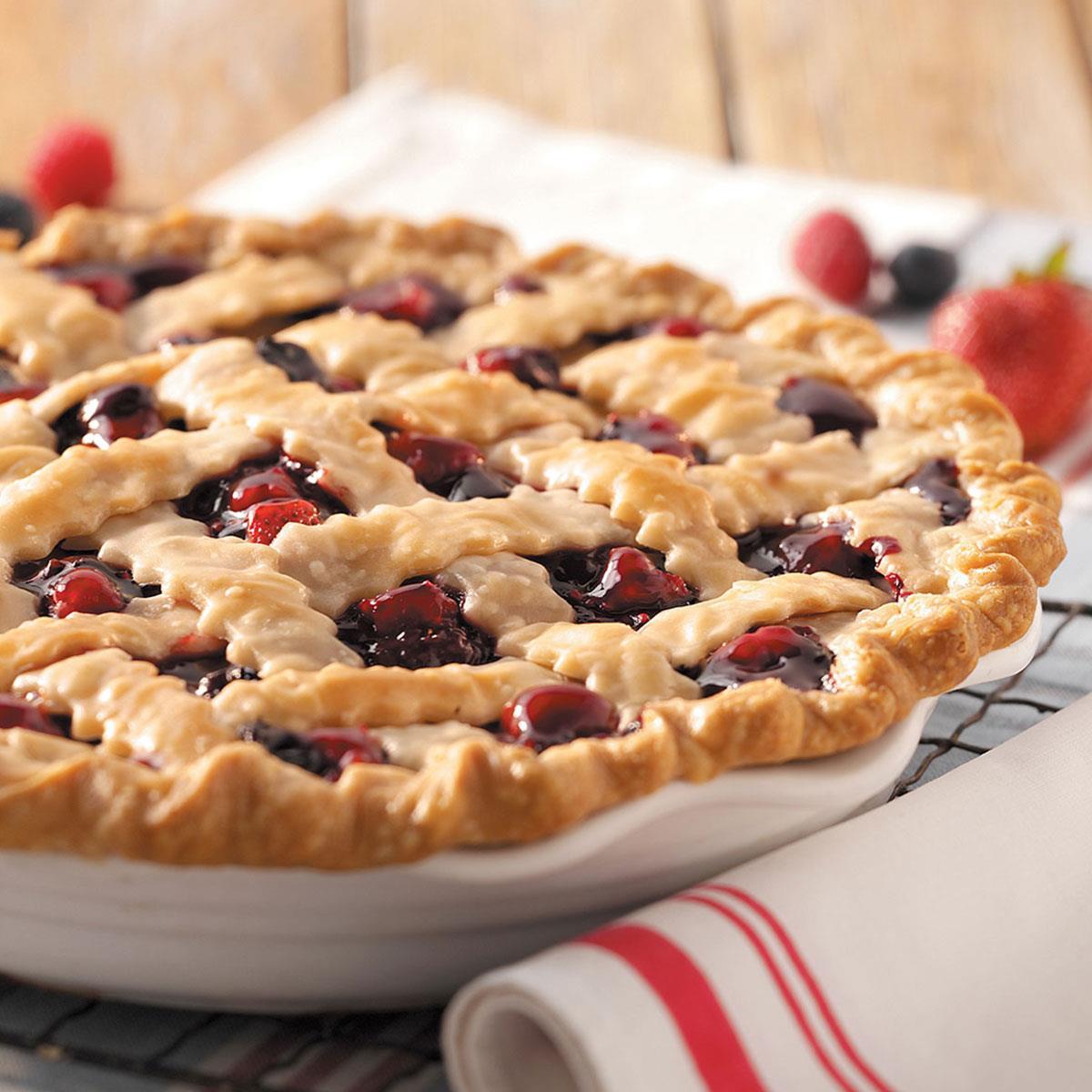 Mixed Berry Pie Recipe