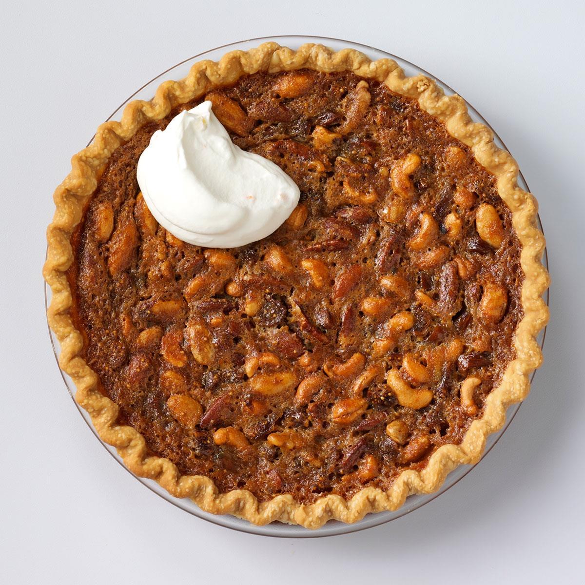 Mixed Nut N Fig Pie Recipe Taste Of Home