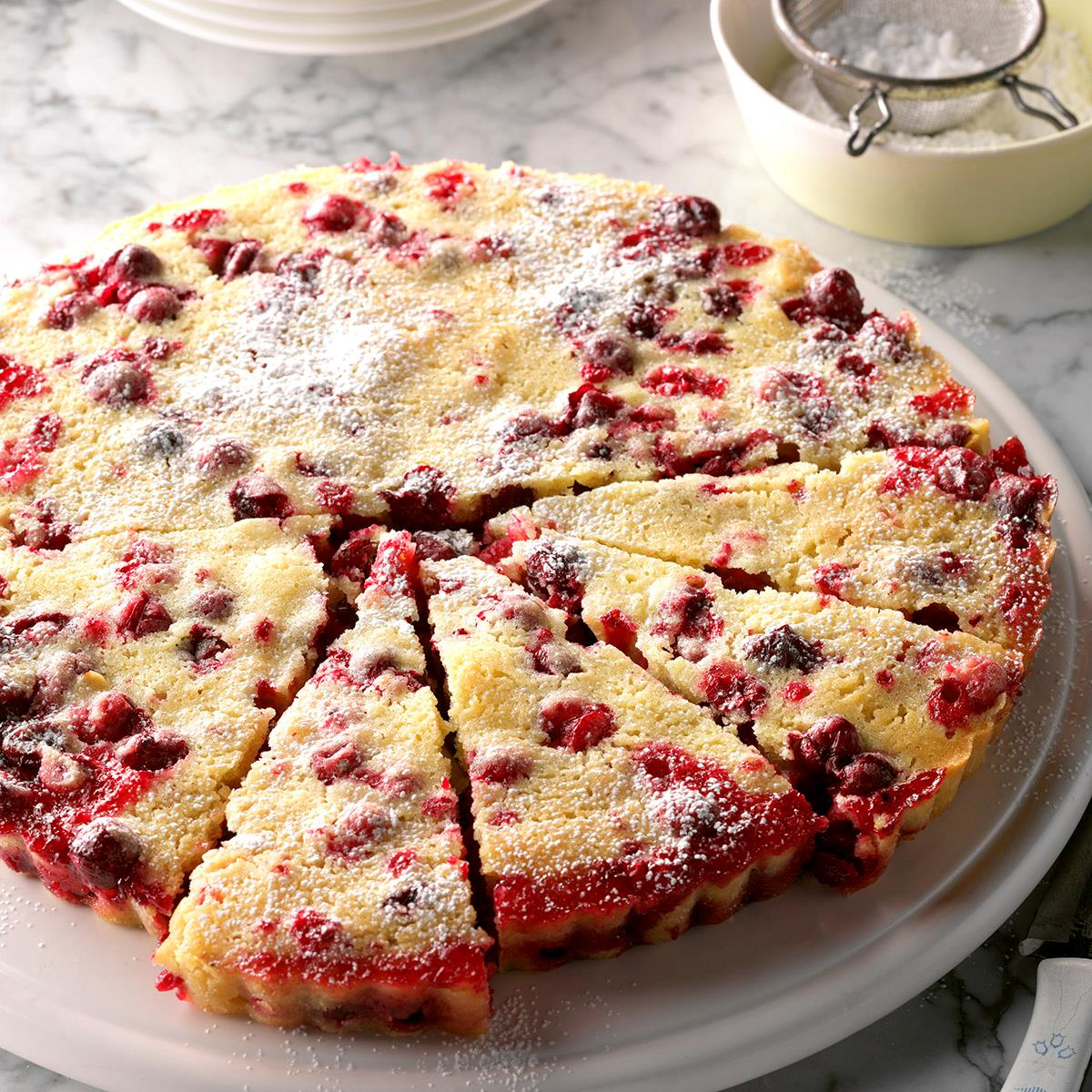 Nantucket Cranberry Tart Recipe Taste Of Home