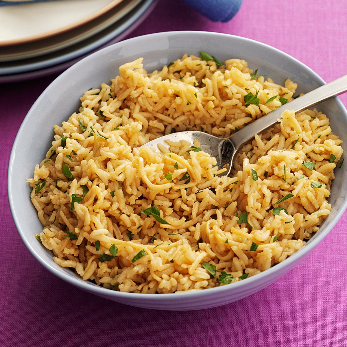 Noodle Rice Pilaf Recipe | Taste of Home