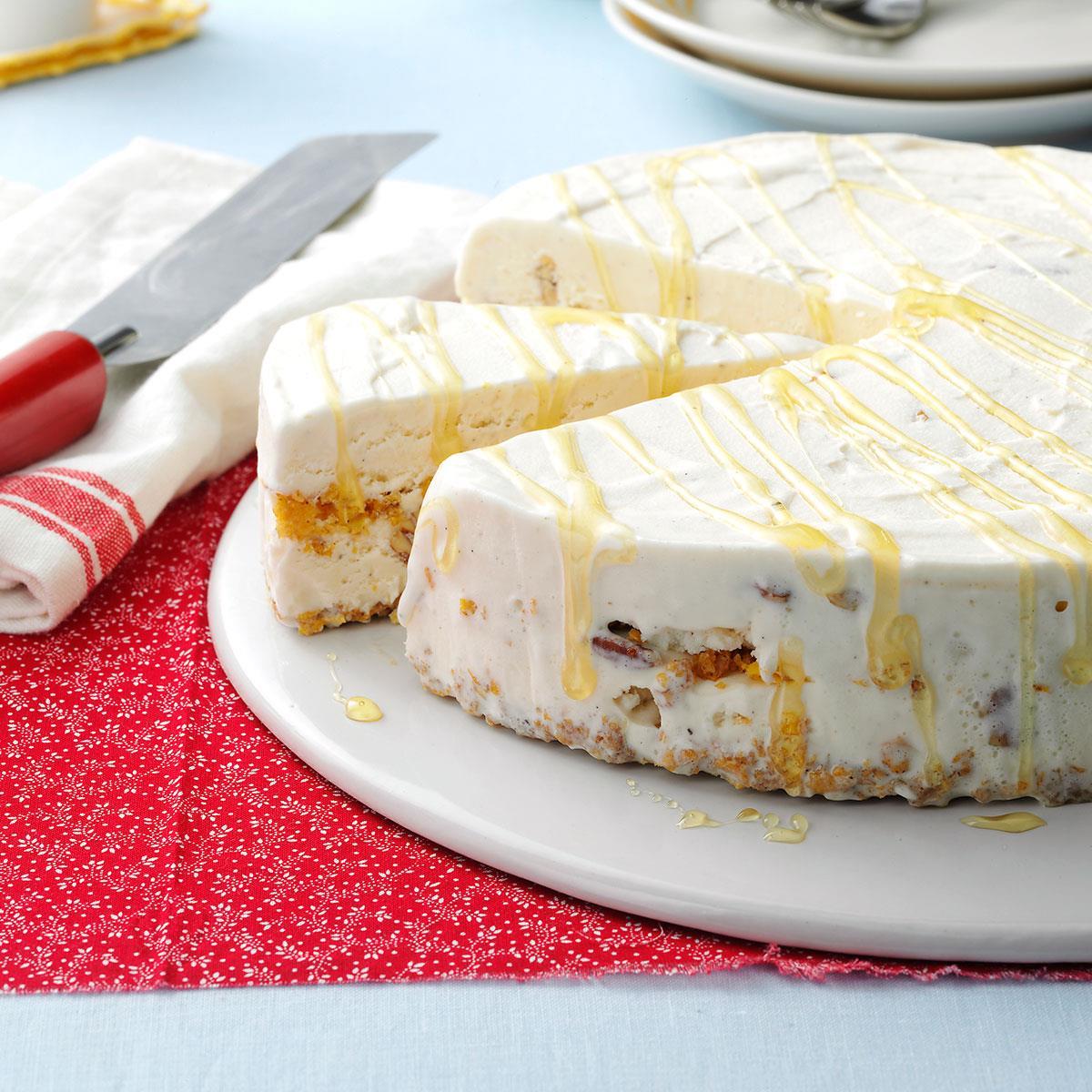Not-Fried Ice Cream Cake Recipe   Taste of Home