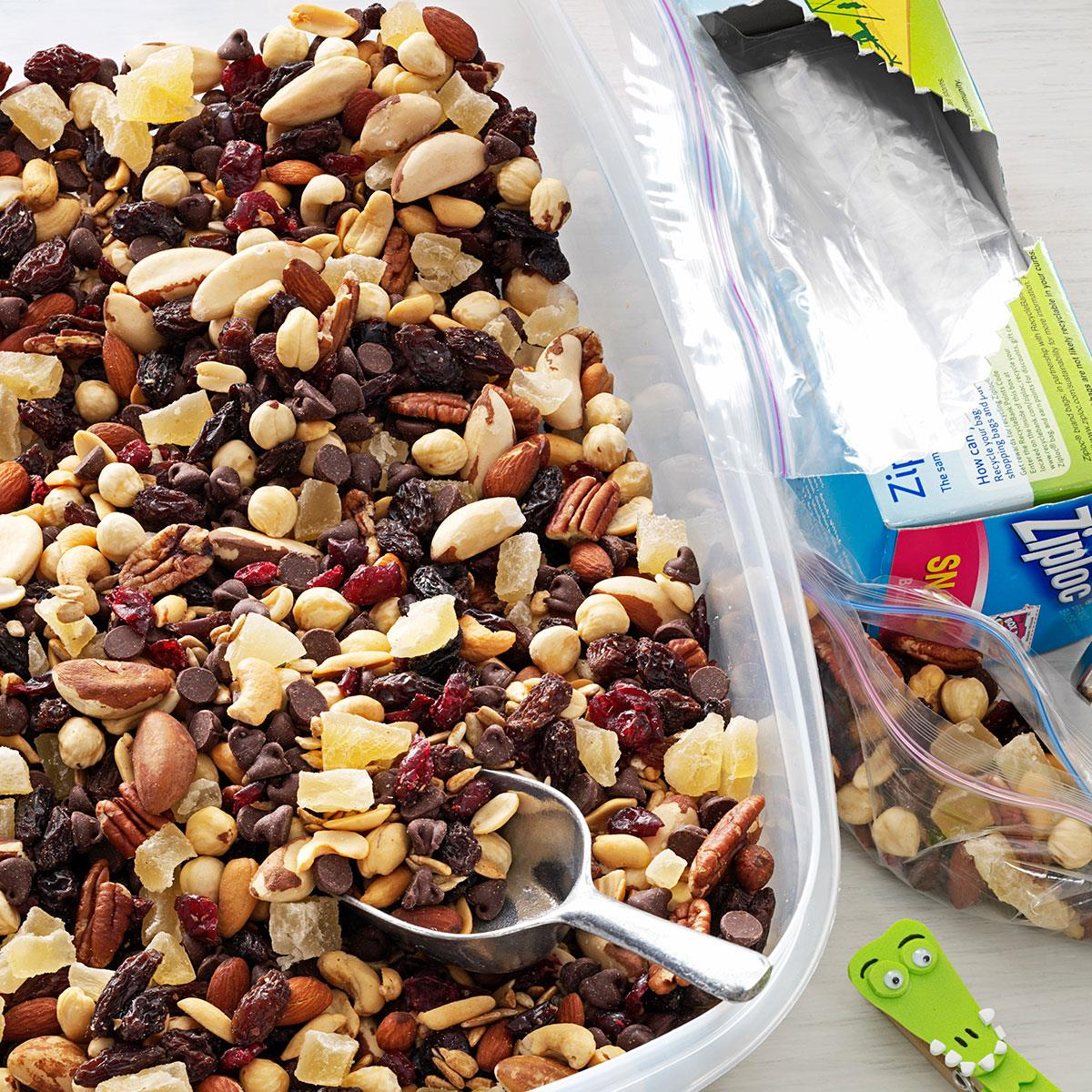 Nutty Berry Trail Mix Recipe Taste Of Home