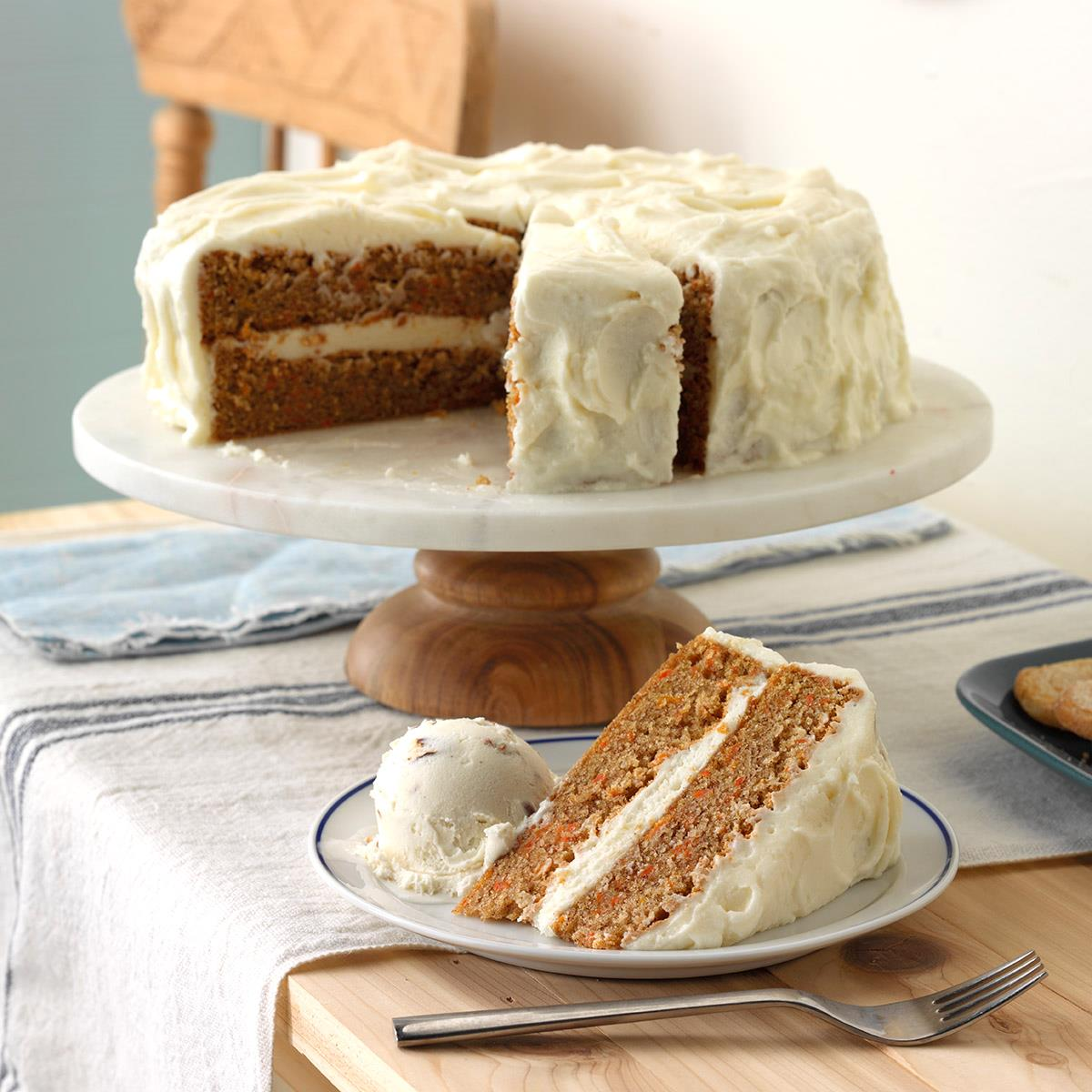 Carrot Cake Cream Cheese Frosting With Double Cream