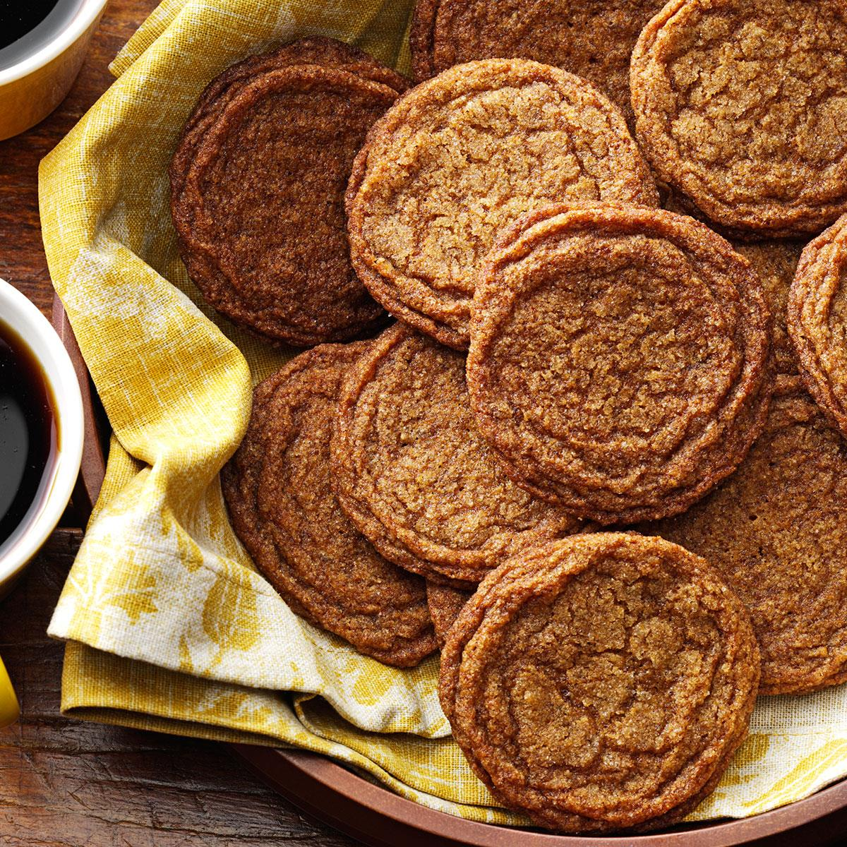 Old Fashioned Gingersnaps Recipe Taste Of Home