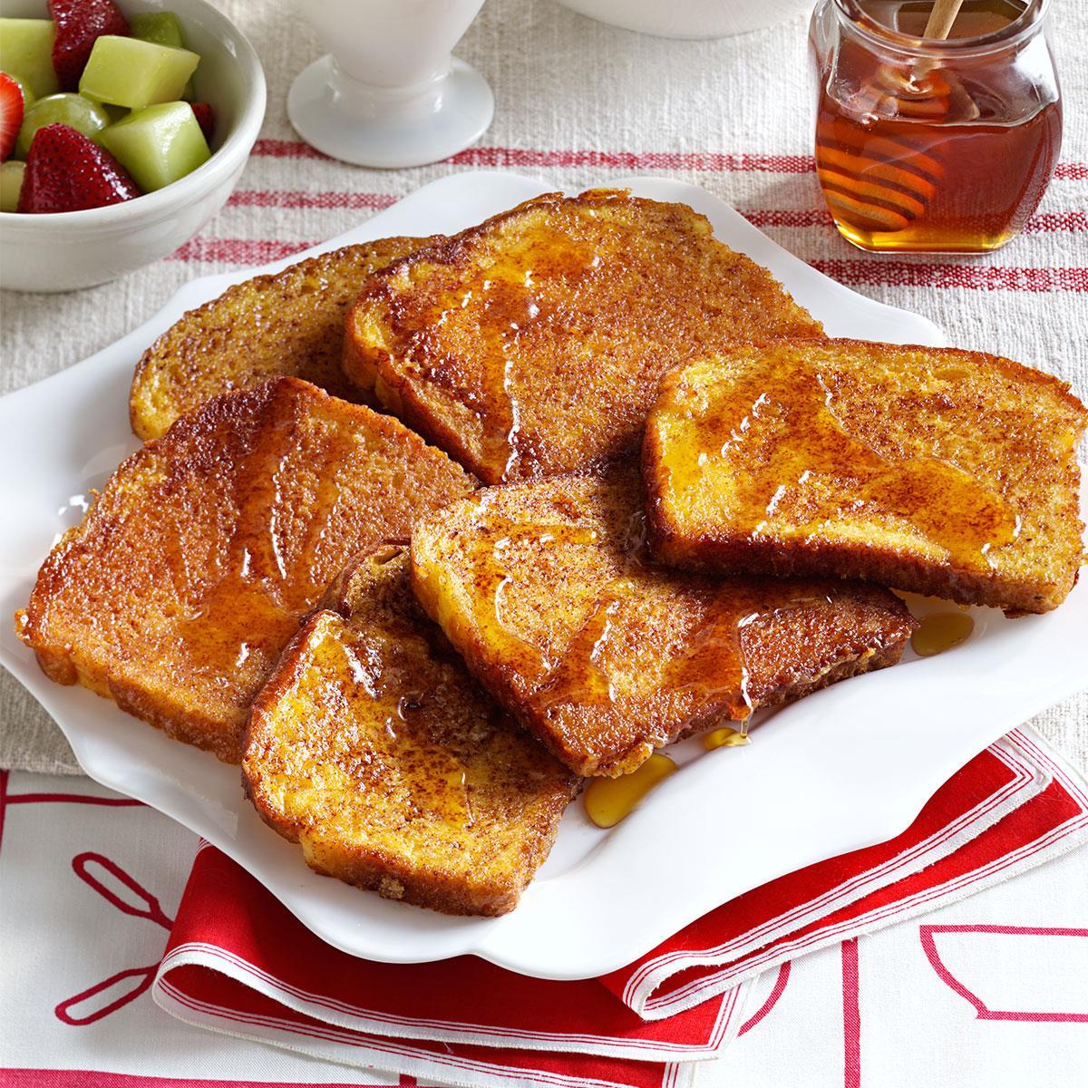 Orange-Cinnamon French Toast Recipe
