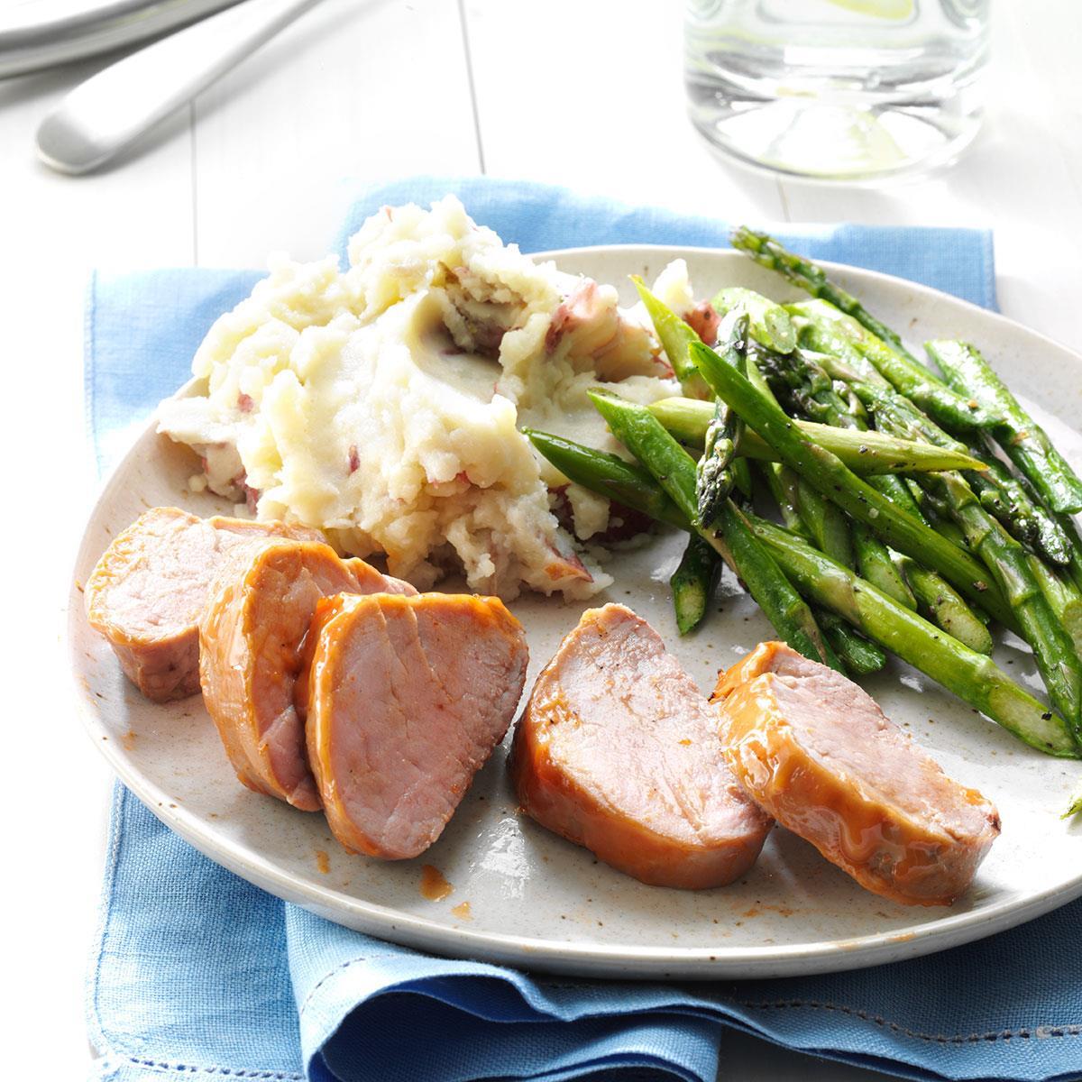 Oven-Barbecued Pork Tenderloins Recipe