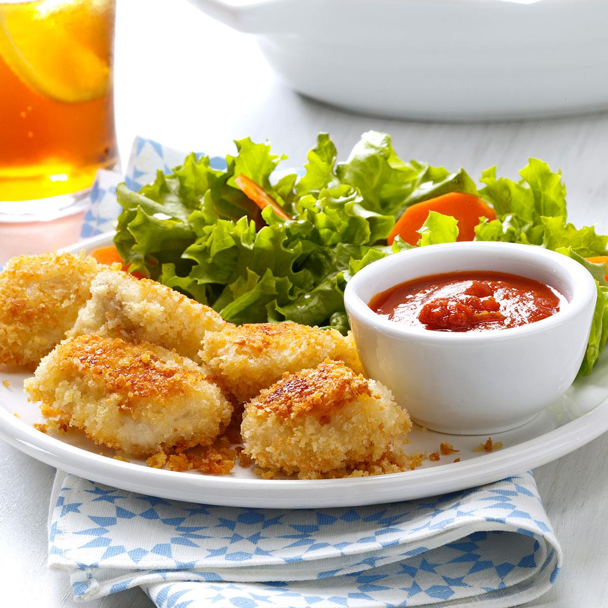 Chicken Nuggets: Parmesan Chicken Nuggets Recipe