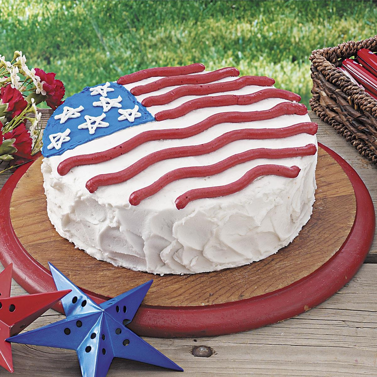 Patriotic Cake Recipe Taste Of Home